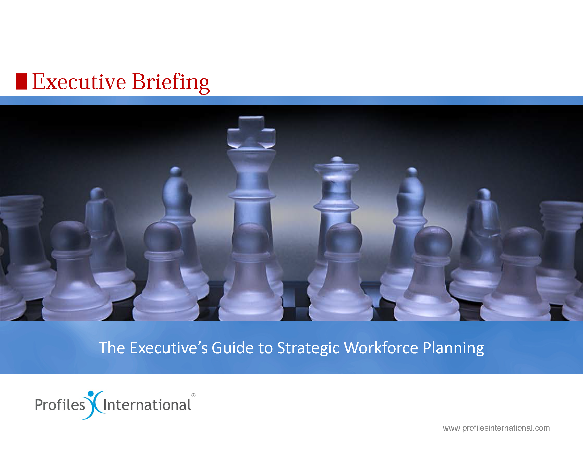 10-Executives Guide to Strategic Workforce Planning
